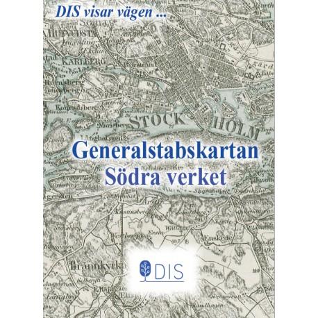 Generalstabskartan Södra verket