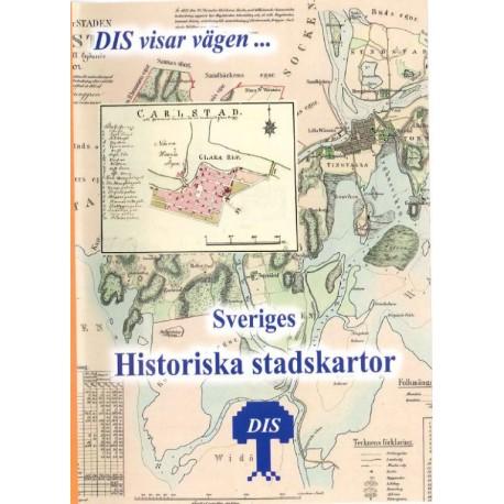 Sveriges historiska stadskartor