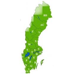 Äldre ekonomiska kartor för Disgen