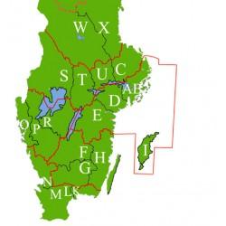 Generalstabskartor för Disgen: Södra verket
