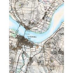 Kartor över Danmark anpassade för Disgen