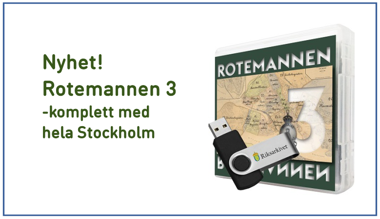 Rotemannen 3 - komplett med hela Stockholm